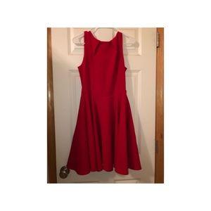 ModCloth red dress sz 12